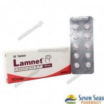 LAMNET TAB 50MG (3X10)
