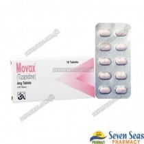 MOVAX TAB 4MG (1X10)