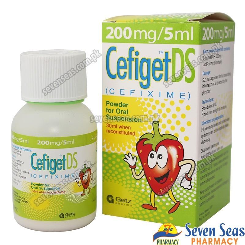 CEFIGET DS SYP 200MG/5ML (30ML)