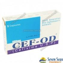 CEF-OD CAP 400MG (1X5)