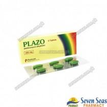 PLAZO TAB 250MG (1X6)