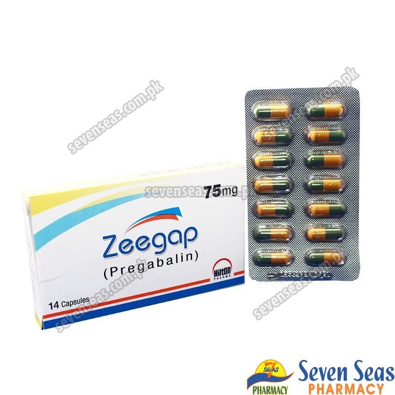 ZEEGAP CAP 75MG (1X14)