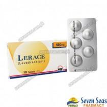 LERACE TAB 500MG (5X2)