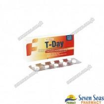 T-DAY TAB 5MG (3X10)