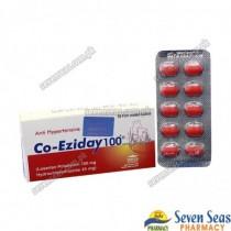 CO-EZIDAY TAB 100/25MG (1X10)