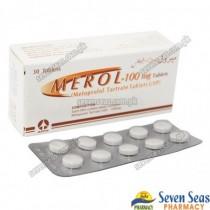 MEROL TAB 100MG (3X10)