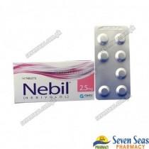 NEBIL TAB 2.5MG (2X7)