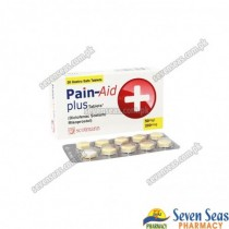PAIN-AID PLUS TAB 50MG/200MCG (2X10)