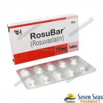 ROSUBAR TAB 10MG (1X10)