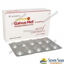 GALVUS MET TAB 50MG/850MG (1X30)