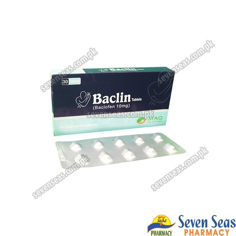 BACLIN TAB 10MG (1X30)