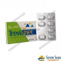 TREVIAMET TAB 50MG/500MG (1X14)