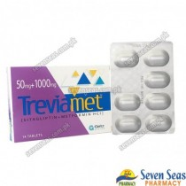 TREVIAMET TAB 50MG+1000MG (1X14)