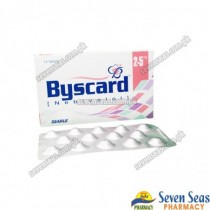 BYSCARD TAB 2.5MG (1X14)