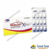 RANZOL-XR TAB 500MG (1X14)