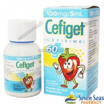CEFIGET SUS 100MG/5ML (60ML)