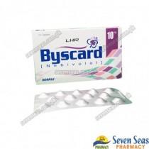 BYSCARD TAB 10MG (1X14)