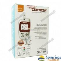 CERTEZA GLUCOMETER DEV GL-110 (1X1)
