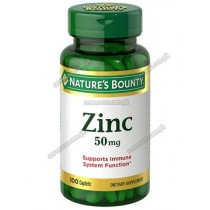 NB ZINC CAP 50MG (1X100)