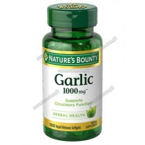 NB GARLIC CAP 1000MG (1X100)