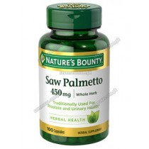 NB SAW PALMETTO TAB 450MG (1X100)