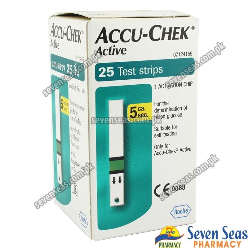 ACCU-CHEK ACTIVE STR  (1X25)