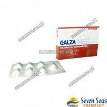 GALZA-MET TAB 50/850MG (2X7)