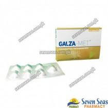 GALZA-MET TAB 50/1000MG (2X7)