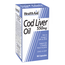 HA COD LIVER OIL CAP 550MG (1X90)