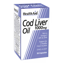 HA COD LIVER OIL CAP 1000MG (1X30)