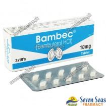 BAMBEC TAB 10MG (3X10)