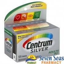 Centrum Silver ADULTS 50+  (1X125 tablets)