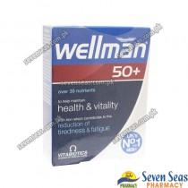 WELLMAN 50+ TAB  (1X30)