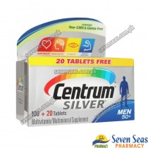 Centrum SILVER MEN 50+ (1X120 tablets)