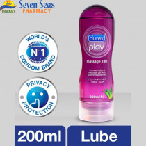 DUREX PLAY MASSAGE 2IN1 LOT ALOE-VERA (200ML)